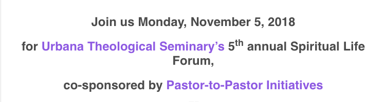 Pastor to Pastor Initiative, Urbana, IL